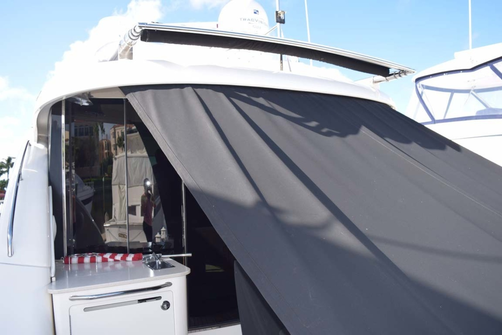 Sea Ray-Sundancer 610 2012-SON RYS Fort Myers-Florida-United States-Canvas Covering Aft Deck Seating-1298487 | Thumbnail