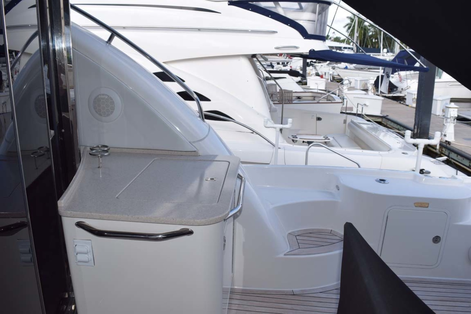 Sea Ray-Sundancer 610 2012-SON RYS Fort Myers-Florida-United States-PORT Side Aft Deck, Grill View-1298490 | Thumbnail