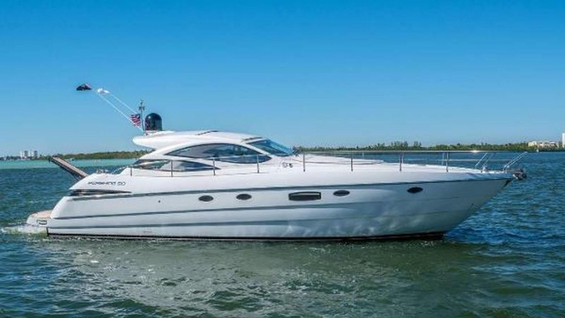 Picture Of: 50' Pershing 2008 Yacht For Sale | 1 of 36