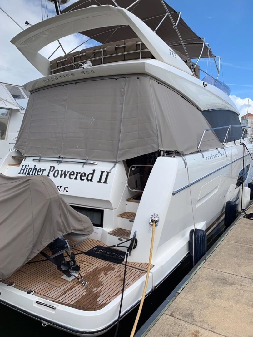 Prestige-550 2015-Higher Powered II Palm Coast-Florida-United States-Starboard Aft-1300864 | Thumbnail