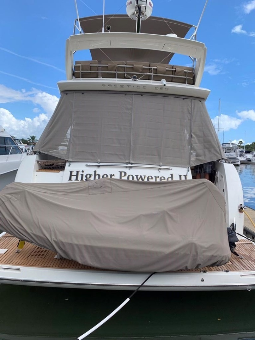 Prestige-550 2015-Higher Powered II Palm Coast-Florida-United States-Swim Platform, Dinghy-1300866 | Thumbnail