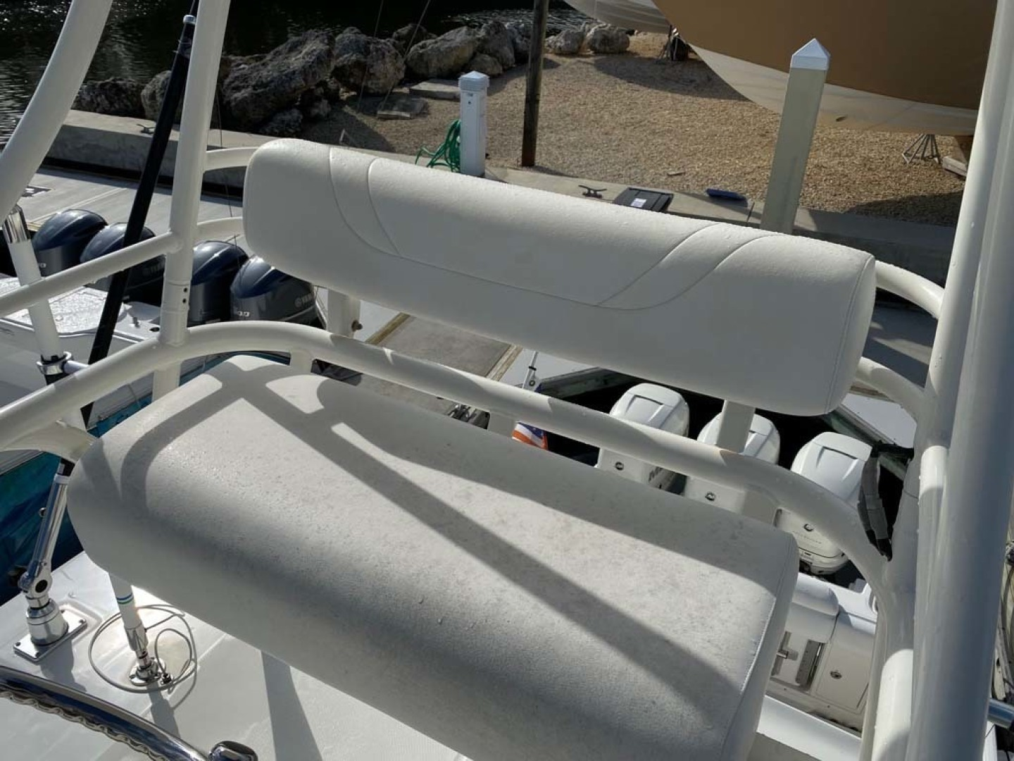 Boston Whaler-370 Outrage 2015-Reel Equity Fort Lauderdale-Florida-United States-Tower Helm Seat-1301995 | Thumbnail