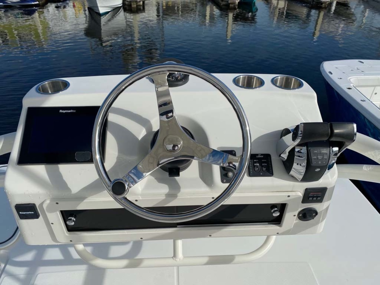 Boston Whaler-370 Outrage 2015-Reel Equity Fort Lauderdale-Florida-United States-Tower Helm-1301994 | Thumbnail
