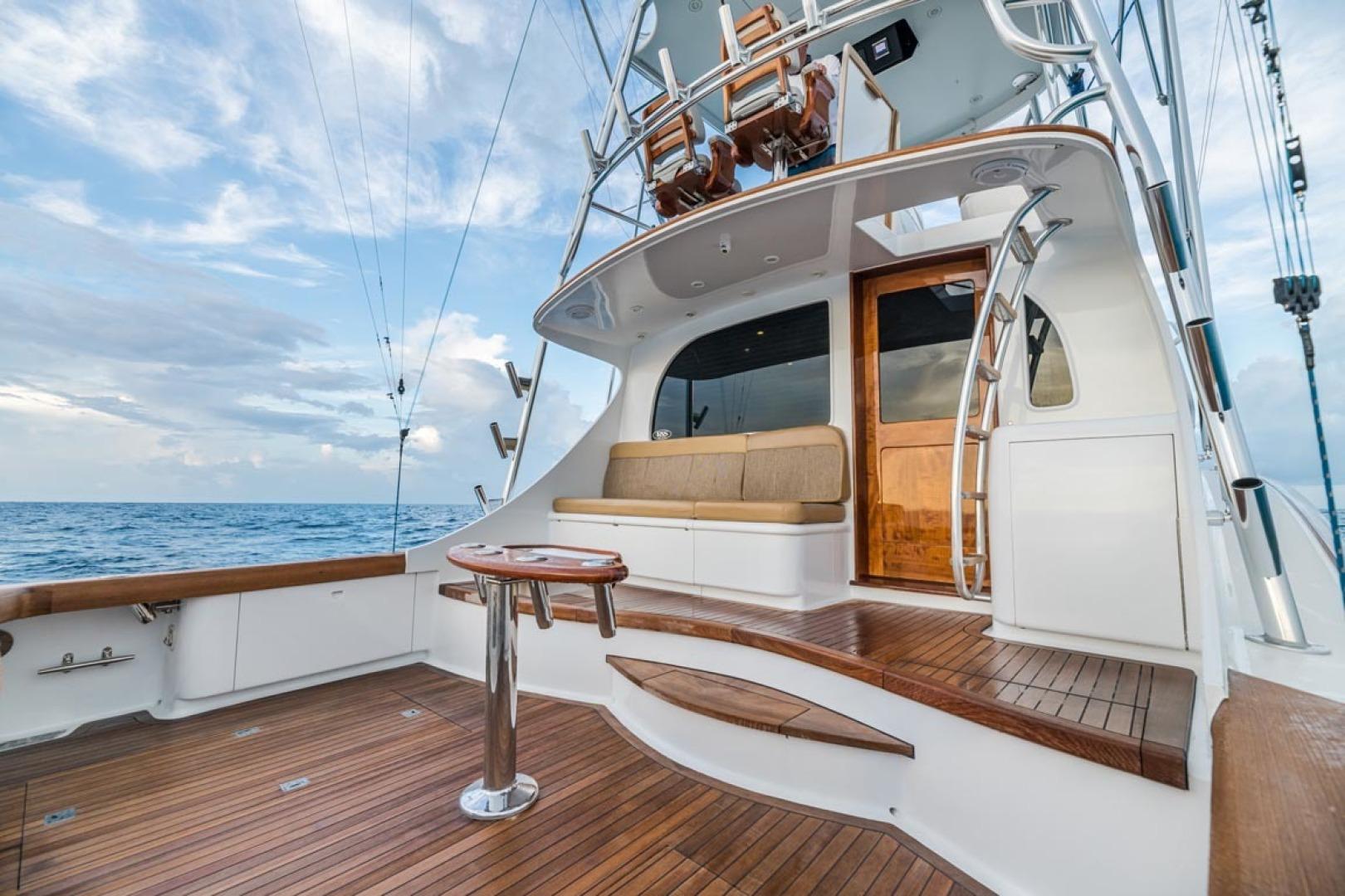 F&S-Custom Carolina with Seakeepers 2013-Epiphany Key Largo-Florida-United States-Cockpit Mezzanine to Port-1447458 | Thumbnail