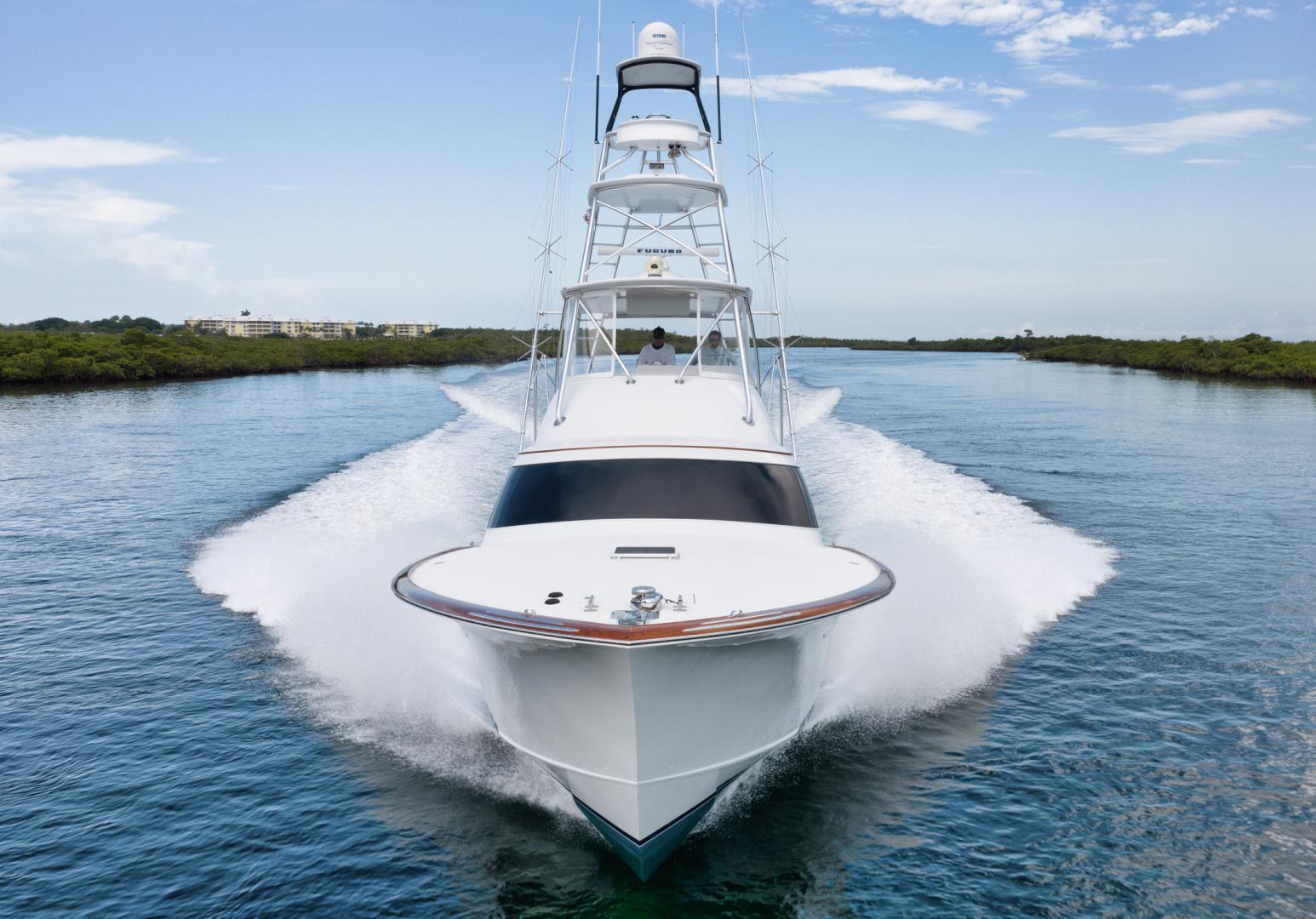 F&S-Custom Carolina with Seakeepers 2013-Epiphany Key Largo-Florida-United States-Bow-1447393 | Thumbnail