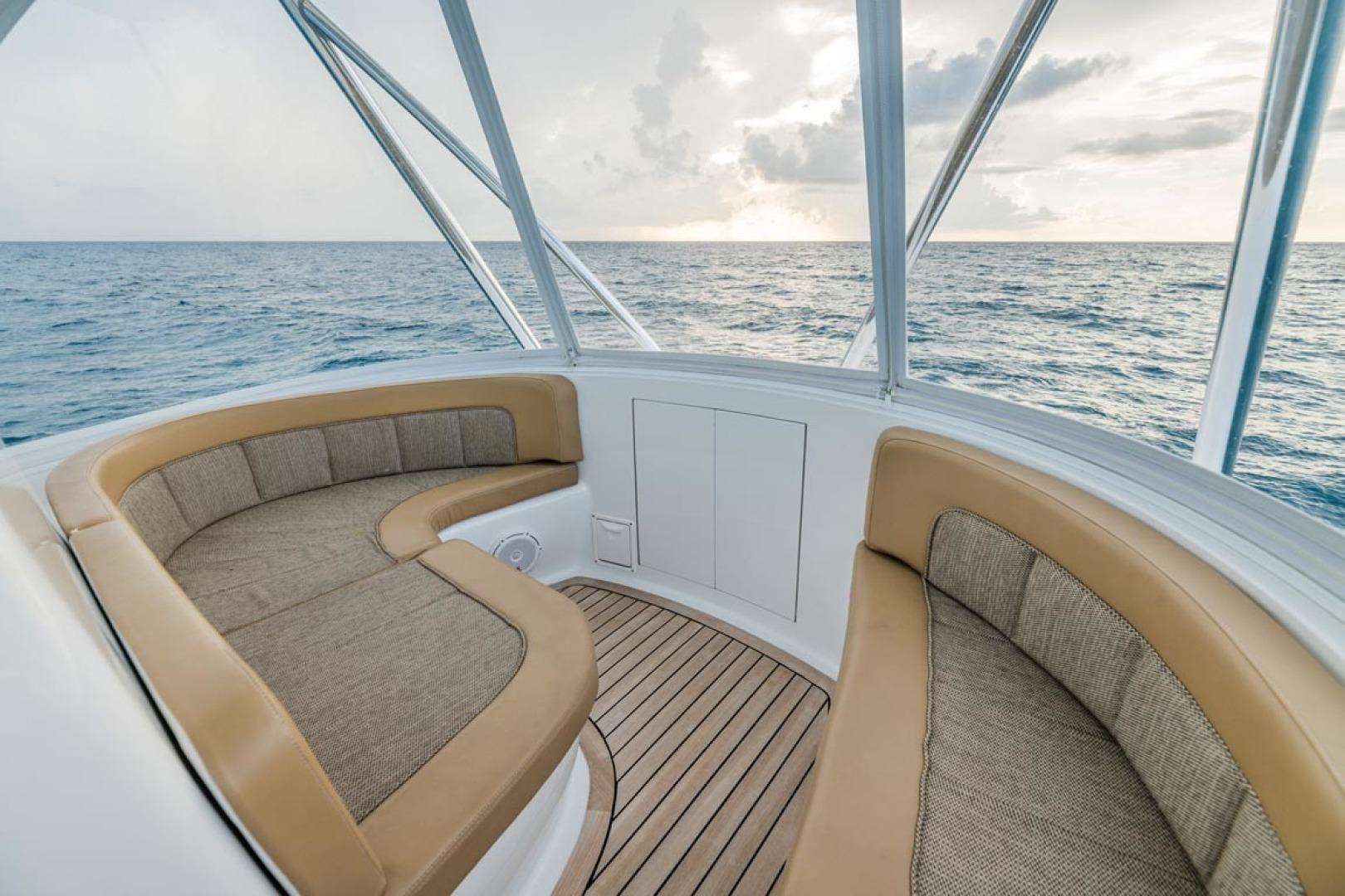 F&S-Custom Carolina with Seakeepers 2013-Epiphany Key Largo-Florida-United States-Flybridge Forward Seating-1447426 | Thumbnail