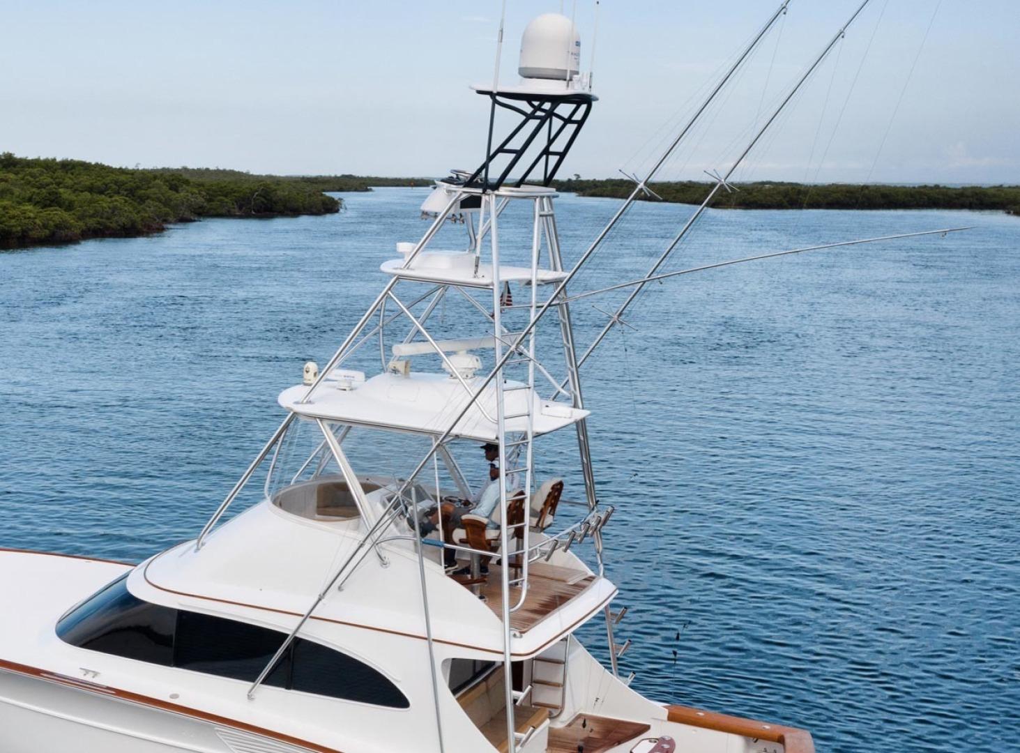 F&S-Custom Carolina with Seakeepers 2013-Epiphany Key Largo-Florida-United States-Flybridge Side View-1447425 | Thumbnail