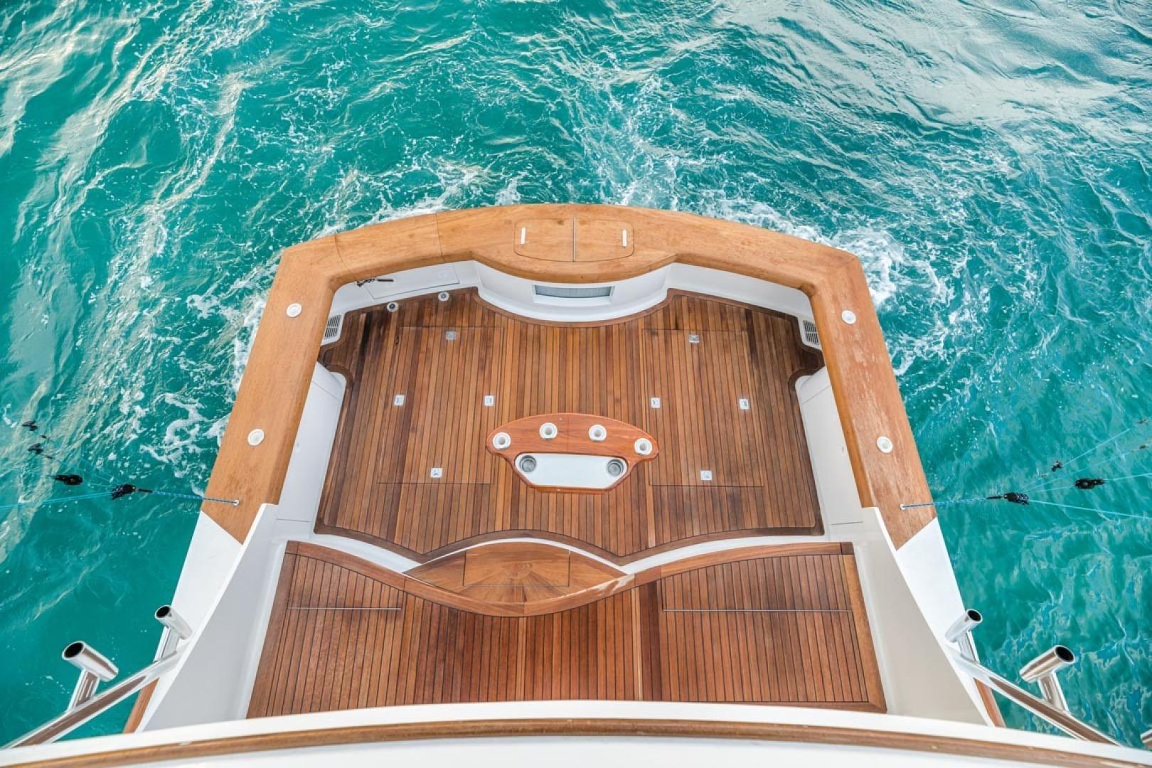 F&S-Custom Carolina with Seakeepers 2013-Epiphany Key Largo-Florida-United States-Cockpit Viewed from Flybridge-1447450 | Thumbnail