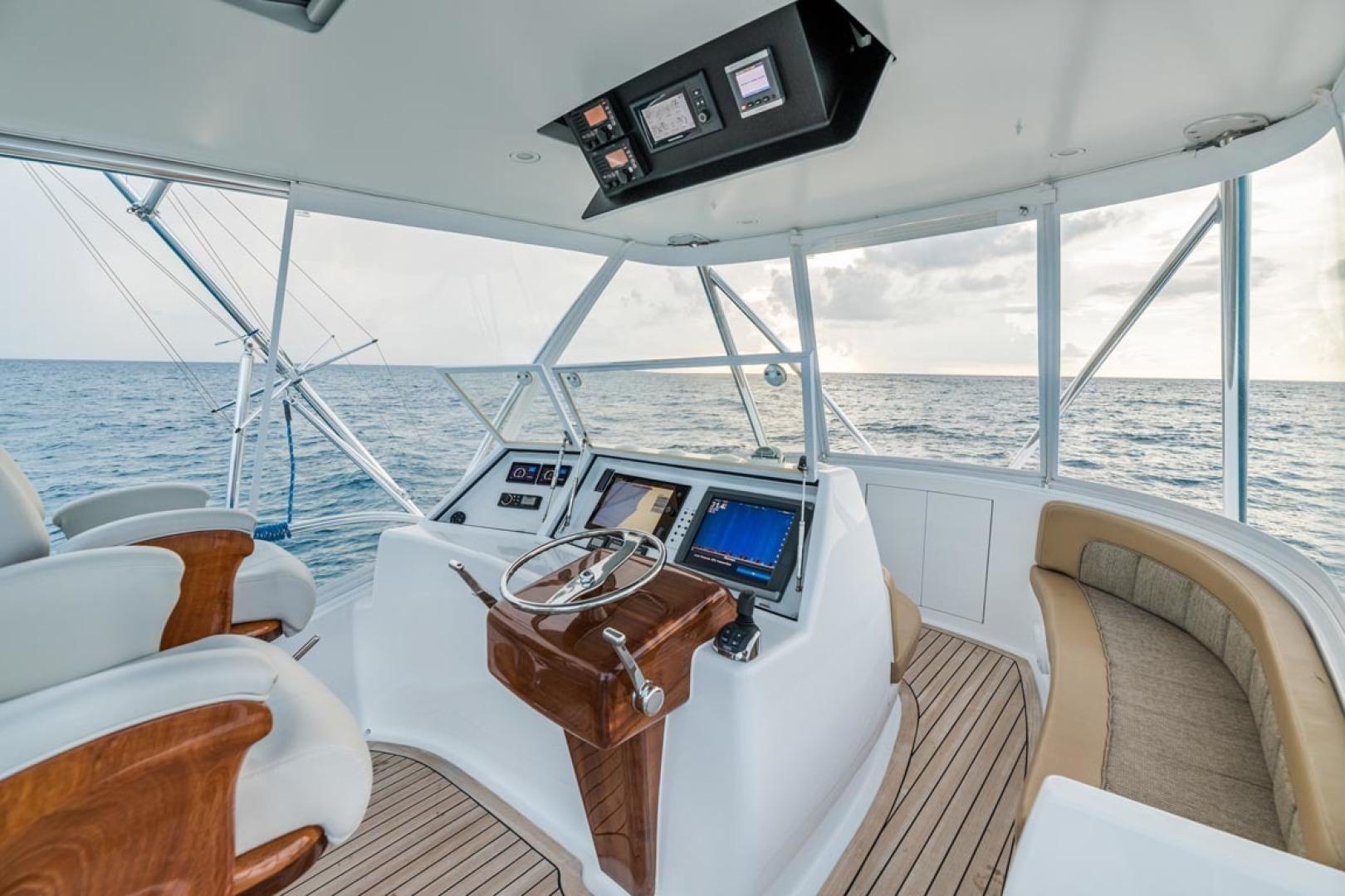 F&S-Custom Carolina with Seakeepers 2013-Epiphany Key Largo-Florida-United States-Flybridge-1447428 | Thumbnail