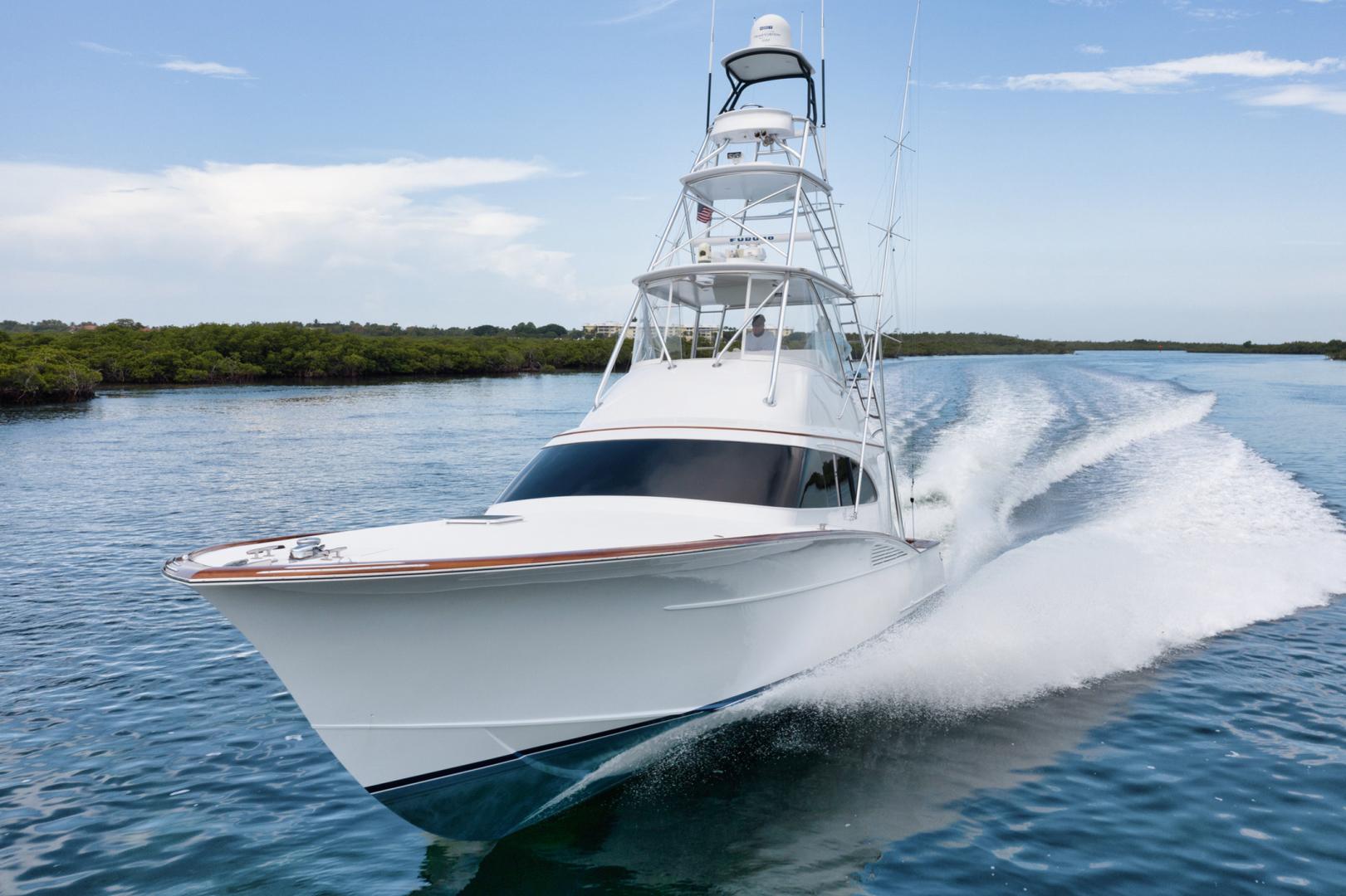 F&S-Custom Carolina with Seakeepers 2013-Epiphany Key Largo-Florida-United States-Port Bow-1447398 | Thumbnail