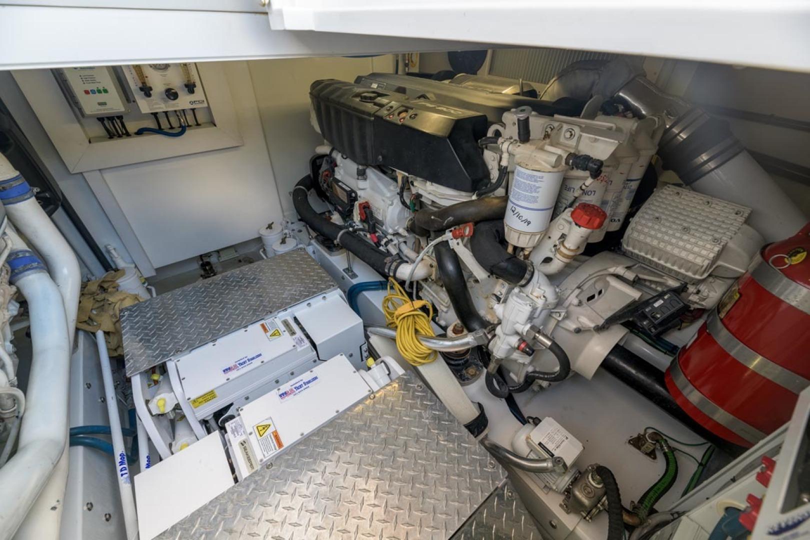 F&S-Custom Carolina with Seakeepers 2013-Epiphany Key Largo-Florida-United States-Engine Room-1447470 | Thumbnail