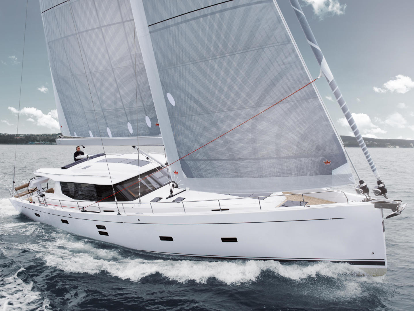 Picture Of: 54' Moody 54 2016 Yacht For Sale | 2 of 54
