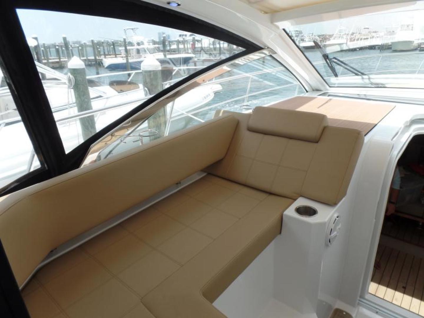 Cruisers-39 Express Coupe 2015-Tranquila Palm Beach-Florida-United States-39 Cruisers Helm guest seating-1408584 | Thumbnail