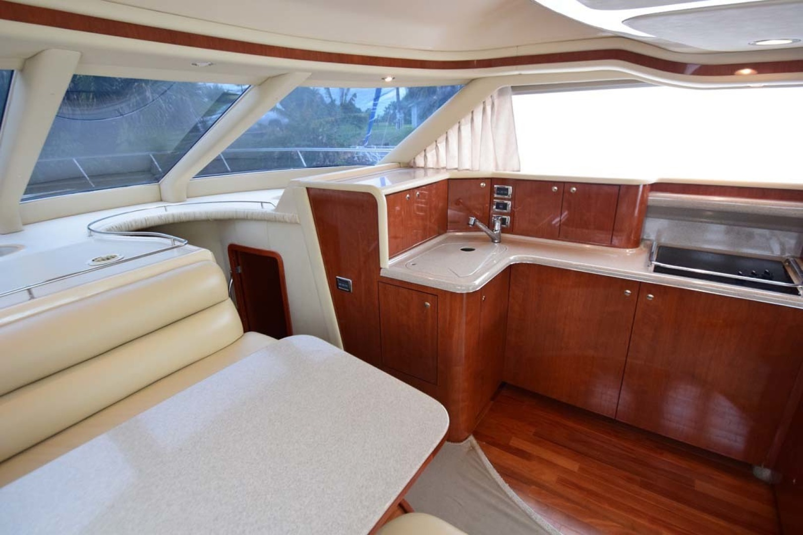 Sea Ray-480 Sedan Bridge 2003-Moondance Stuart-Florida-United States-Galley, Dinette-1308130 | Thumbnail