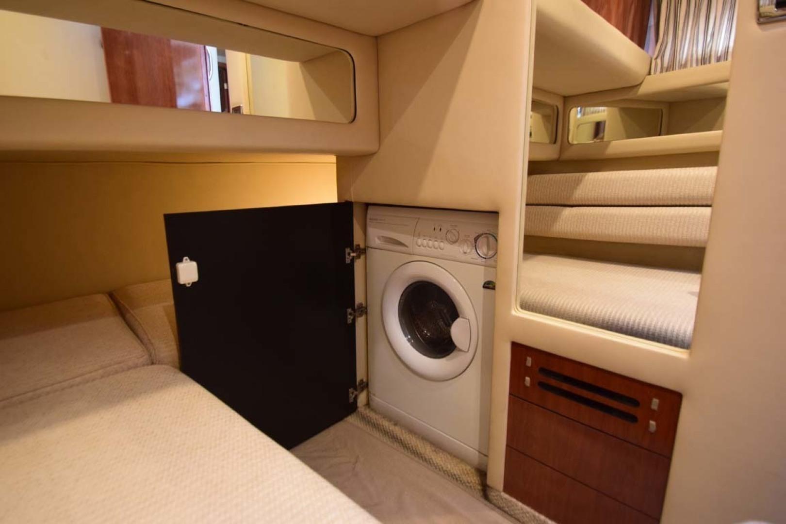 Sea Ray-480 Sedan Bridge 2003-Moondance Stuart-Florida-United States-Washer Dryer Combo In Twin Bunk-1308144 | Thumbnail
