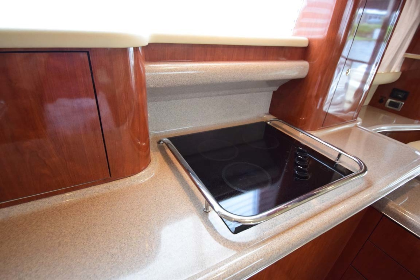 Sea Ray-480 Sedan Bridge 2003-Moondance Stuart-Florida-United States-Galley Cooktop-1308126 | Thumbnail