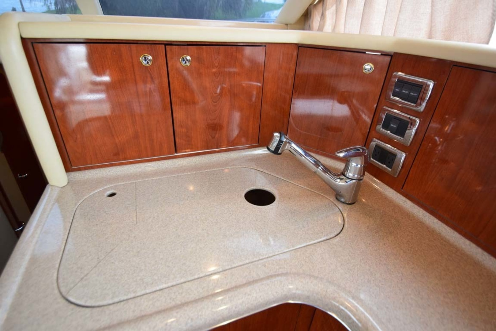 Sea Ray-480 Sedan Bridge 2003-Moondance Stuart-Florida-United States-Galley Sink Details-1308127 | Thumbnail