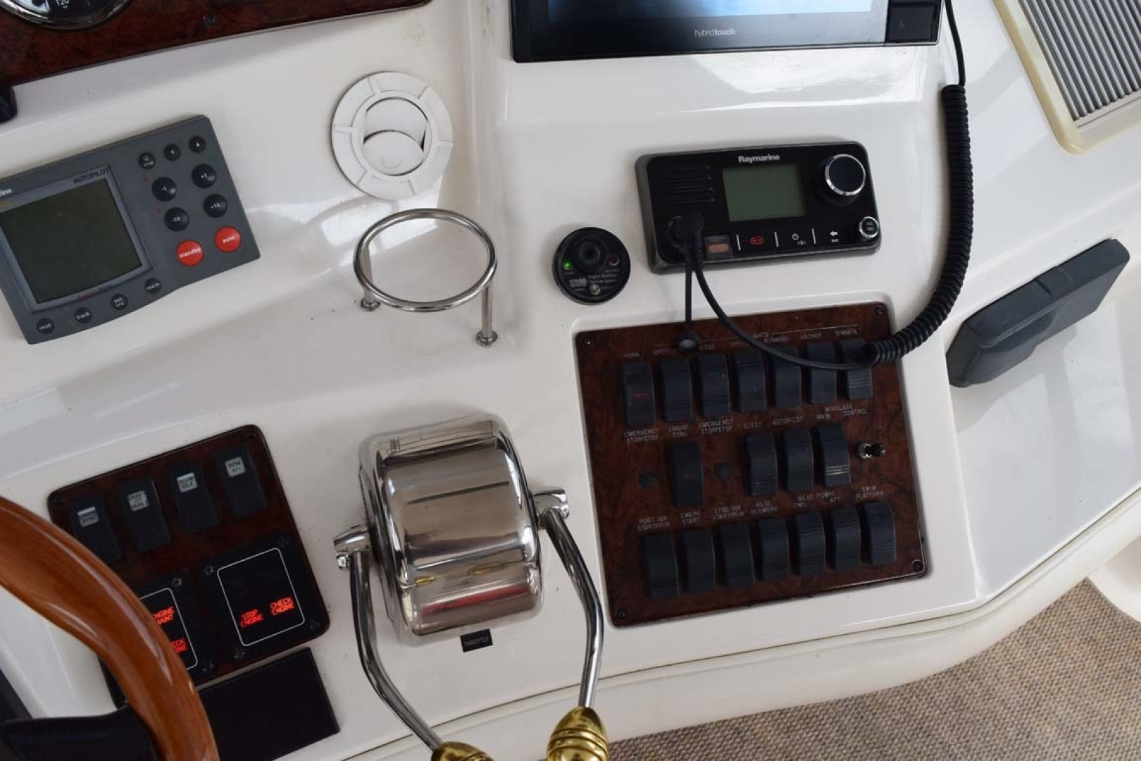 Sea Ray-480 Sedan Bridge 2003-Moondance Stuart-Florida-United States-Helm Gauges, Instruments-1308106 | Thumbnail