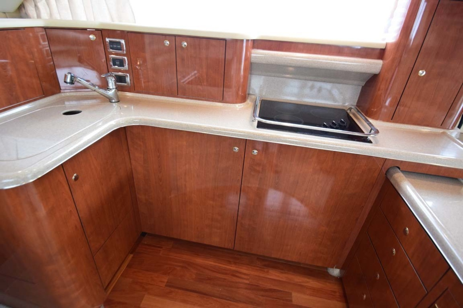 Sea Ray-480 Sedan Bridge 2003-Moondance Stuart-Florida-United States-Galley Cooktop And Sink-1308124 | Thumbnail