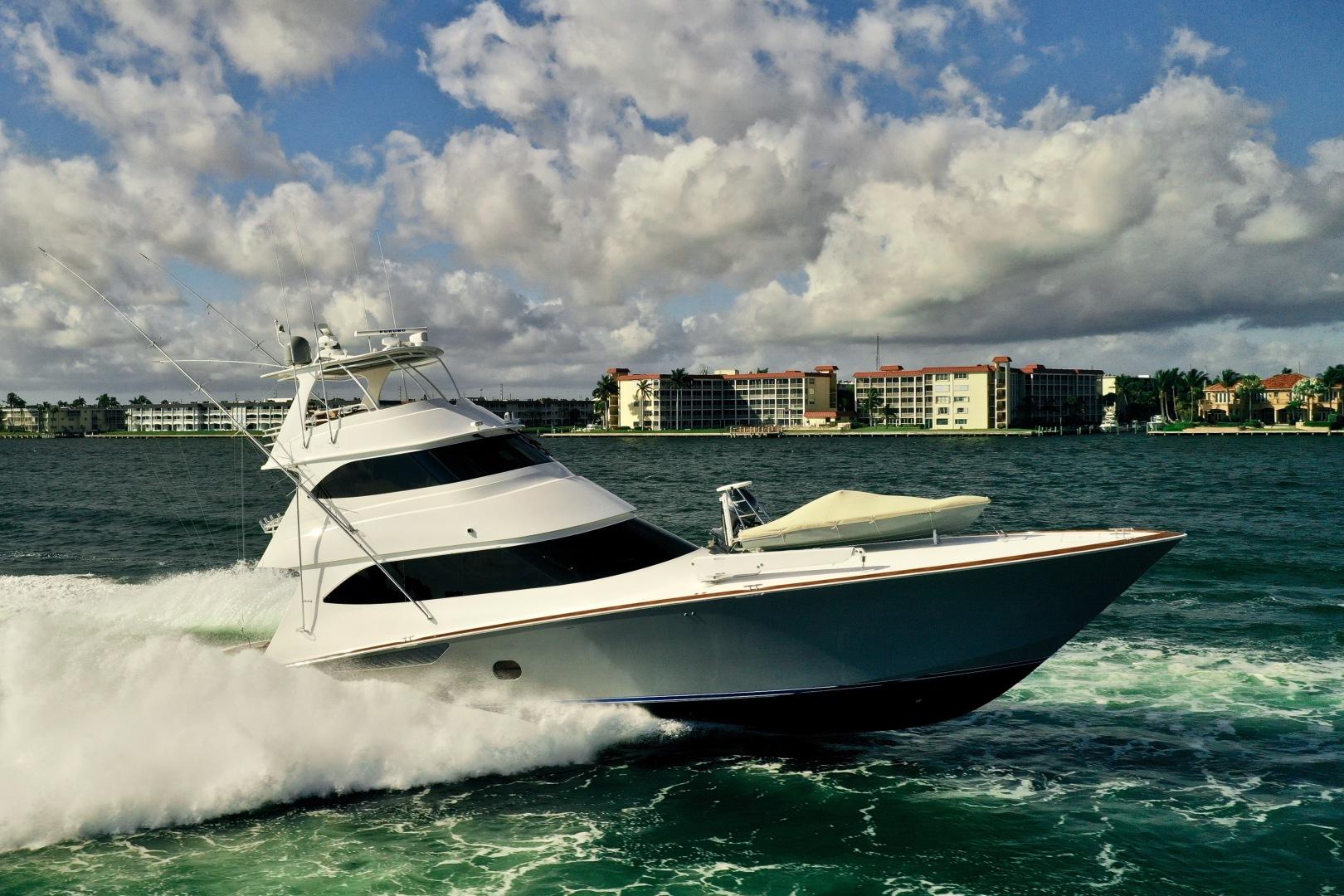 Viking-76 Convertible 2010-High Cotton Palm Beach-Florida-United States-2010 76 Viking Convertible   Running-1317945 | Thumbnail
