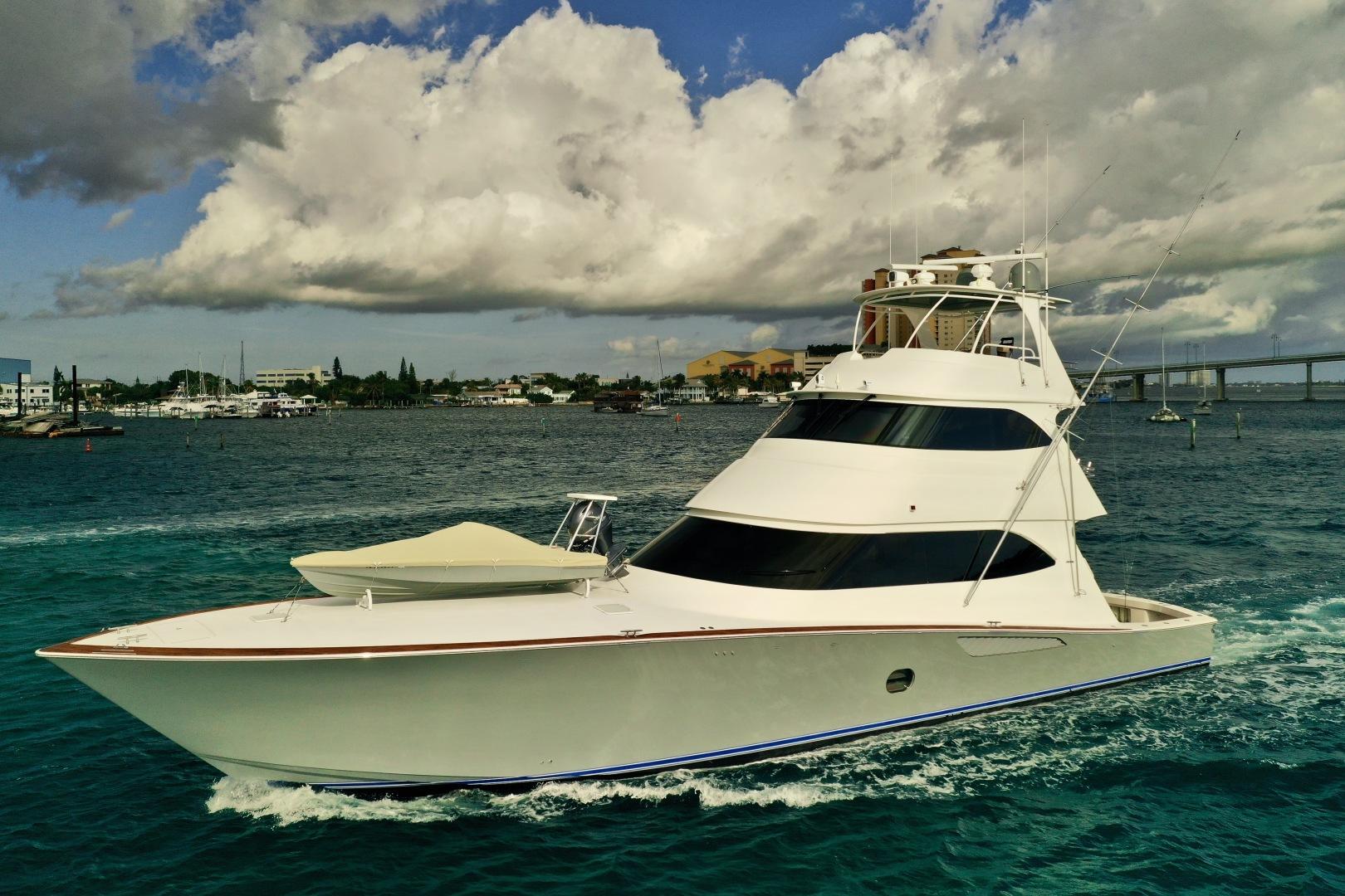 Viking-76 Convertible 2010-High Cotton Palm Beach-Florida-United States-2010 76 Viking Convertible   Port Profile-1317944 | Thumbnail