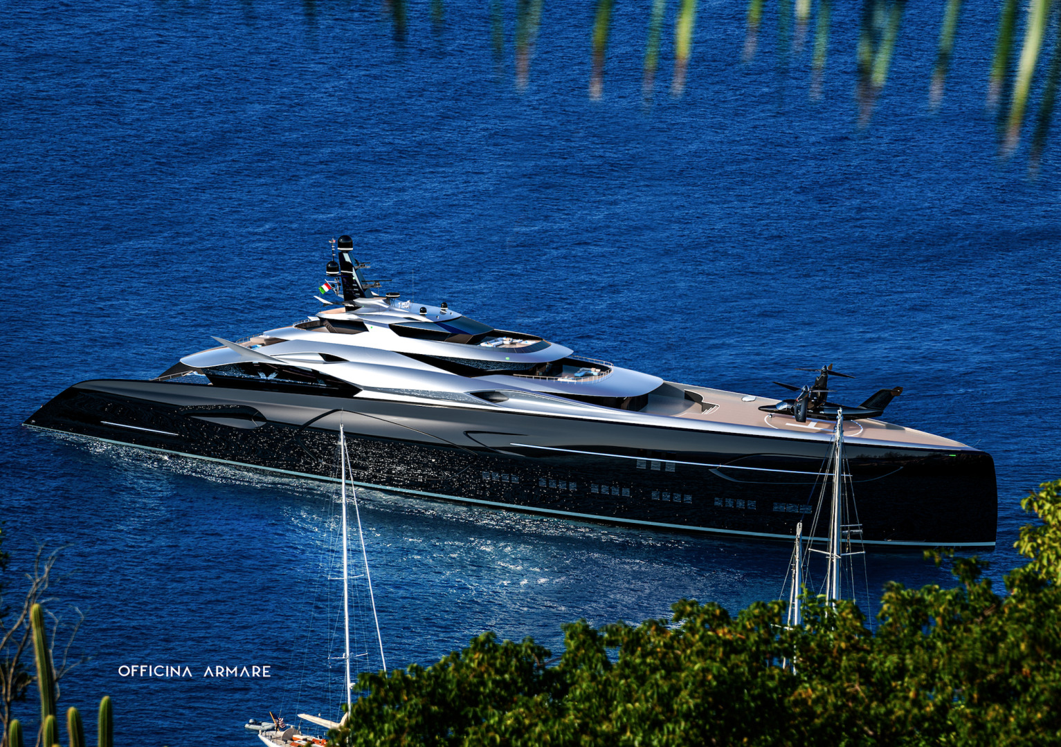 Picture Of a 2024 Custom 360  Motor Yachts | 1308780