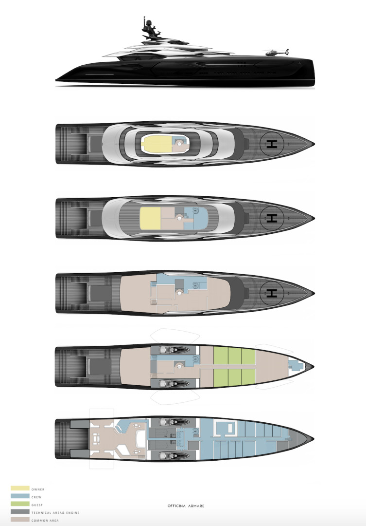 Picture Of a 2024 Custom 360  Motor Yachts | 1308787
