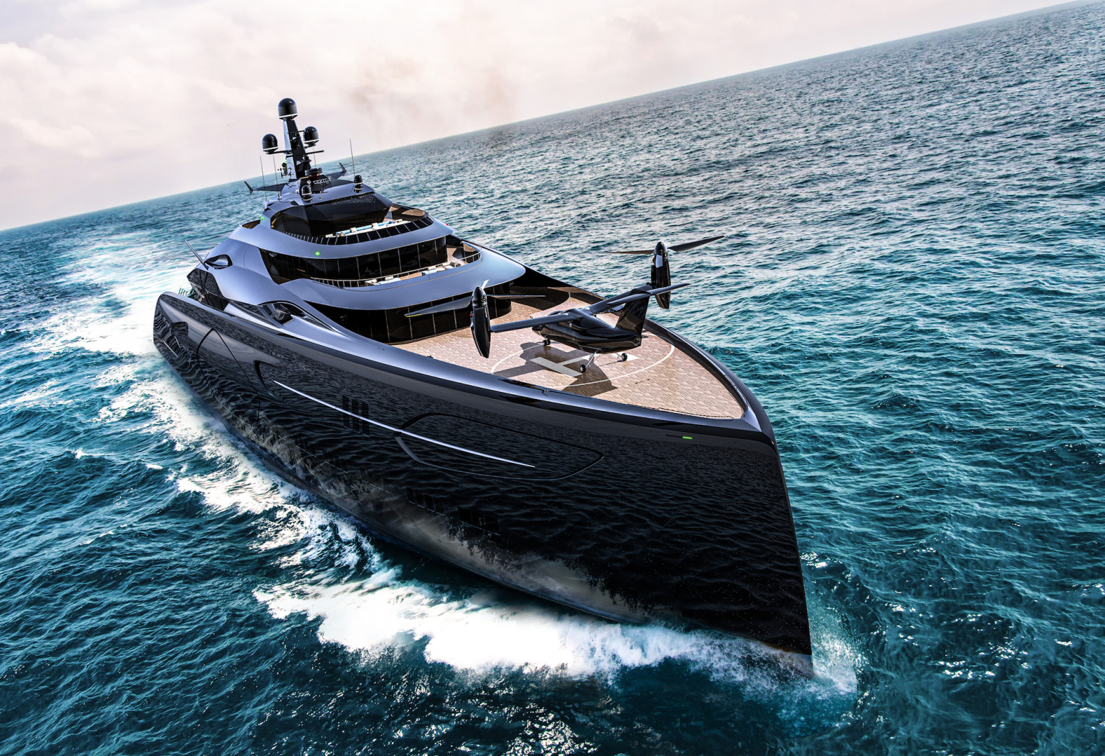 Picture Of a 2024 Custom 360  Motor Yachts | 1308785