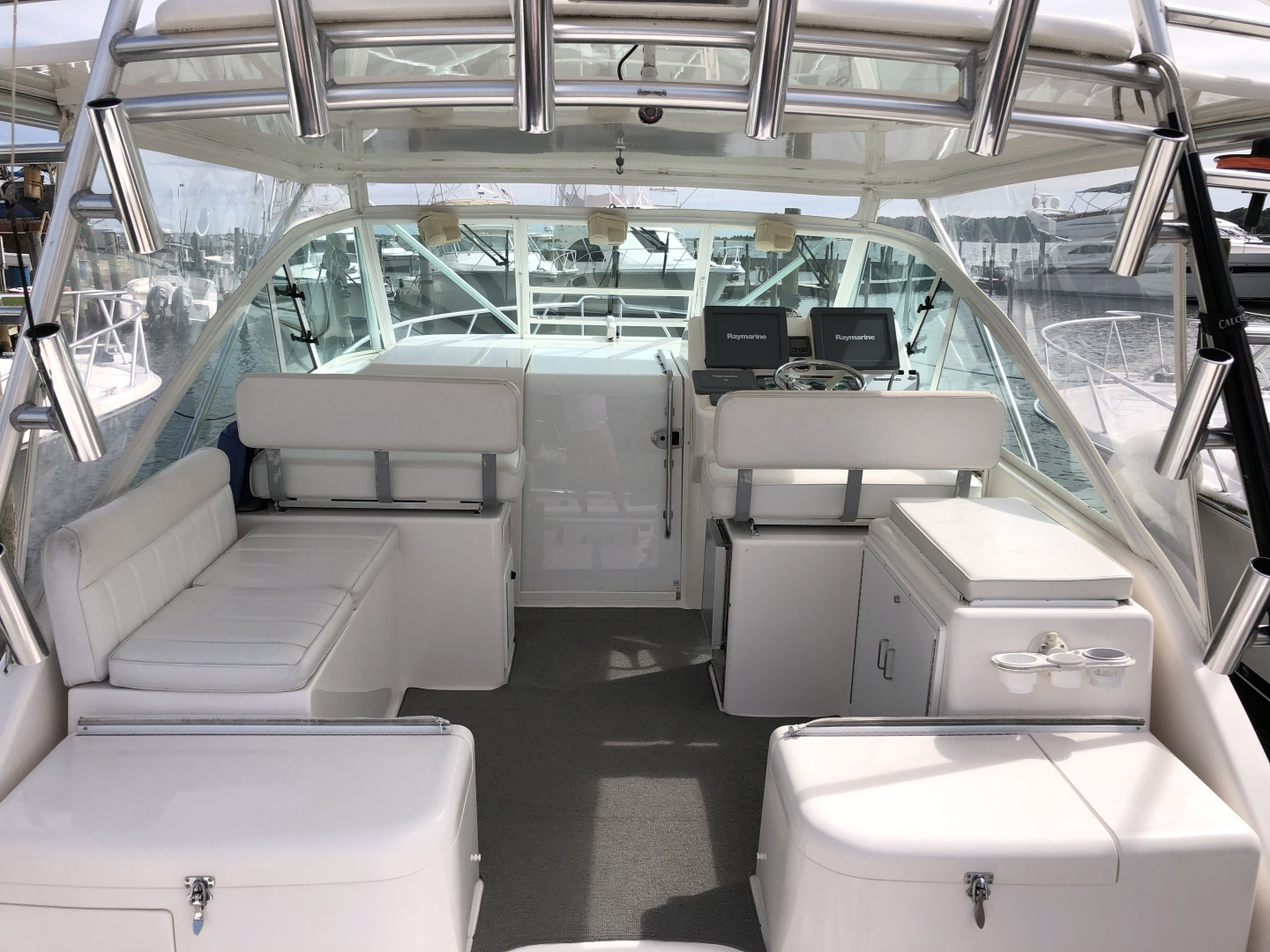 Cabo-35 Express 2003-Baby G Southampton-New York-United States-Helm Deck-1309146 | Thumbnail
