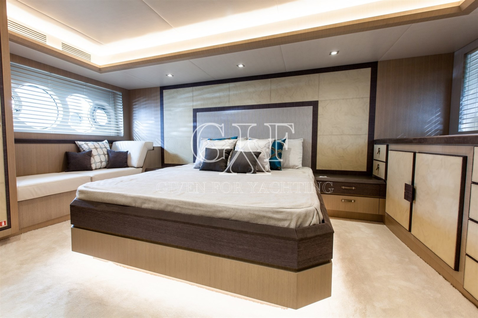 Monte Carlo-MCY 65 2016-EXCALIBUR Varazze-Italy-MCY 65, Owners Stateroom Logo-1309586   Thumbnail