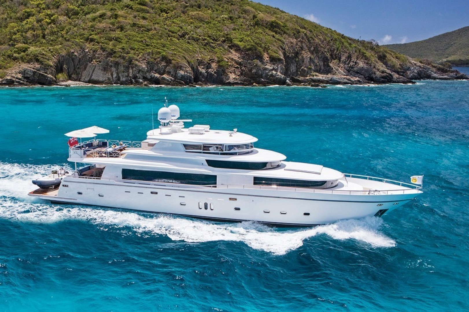 Picture Of: 108' Johnson 108 FB Custom 2016 Yacht For Sale   1 of 110