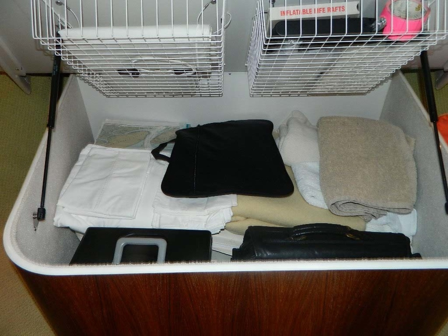 Tiara-Open 2004-Door Knock II Hobe Sound-Florida-United States-Storage Under Master Berth-1315555 | Thumbnail