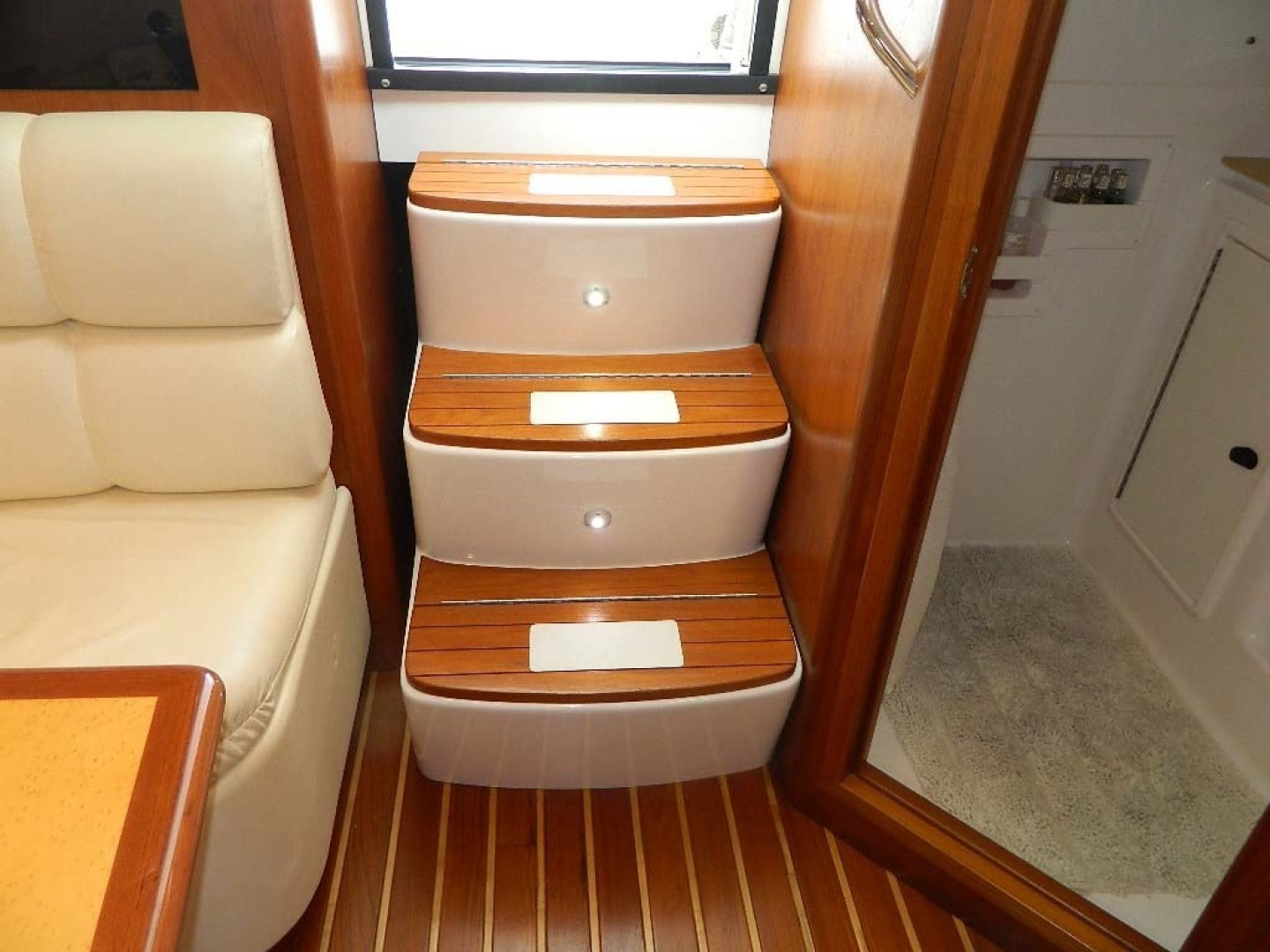 Tiara-Open 2004-Door Knock II Hobe Sound-Florida-United States-Steps to Helm Deck Cockpit-1315556 | Thumbnail