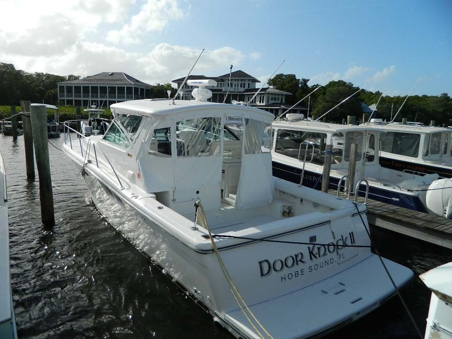 Tiara-Open 2004-Door Knock II Hobe Sound-Florida-United States-Stern-1315568 | Thumbnail