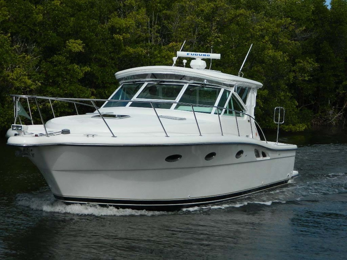 Tiara-Open 2004-Door Knock II Hobe Sound-Florida-United States-Port Bow Profile-1315507 | Thumbnail