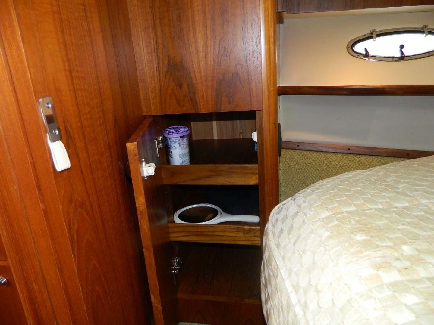 Tiara-Open 2004-Door Knock II Hobe Sound-Florida-United States-Master Stateroom Storage Cabinet-1315551 | Thumbnail