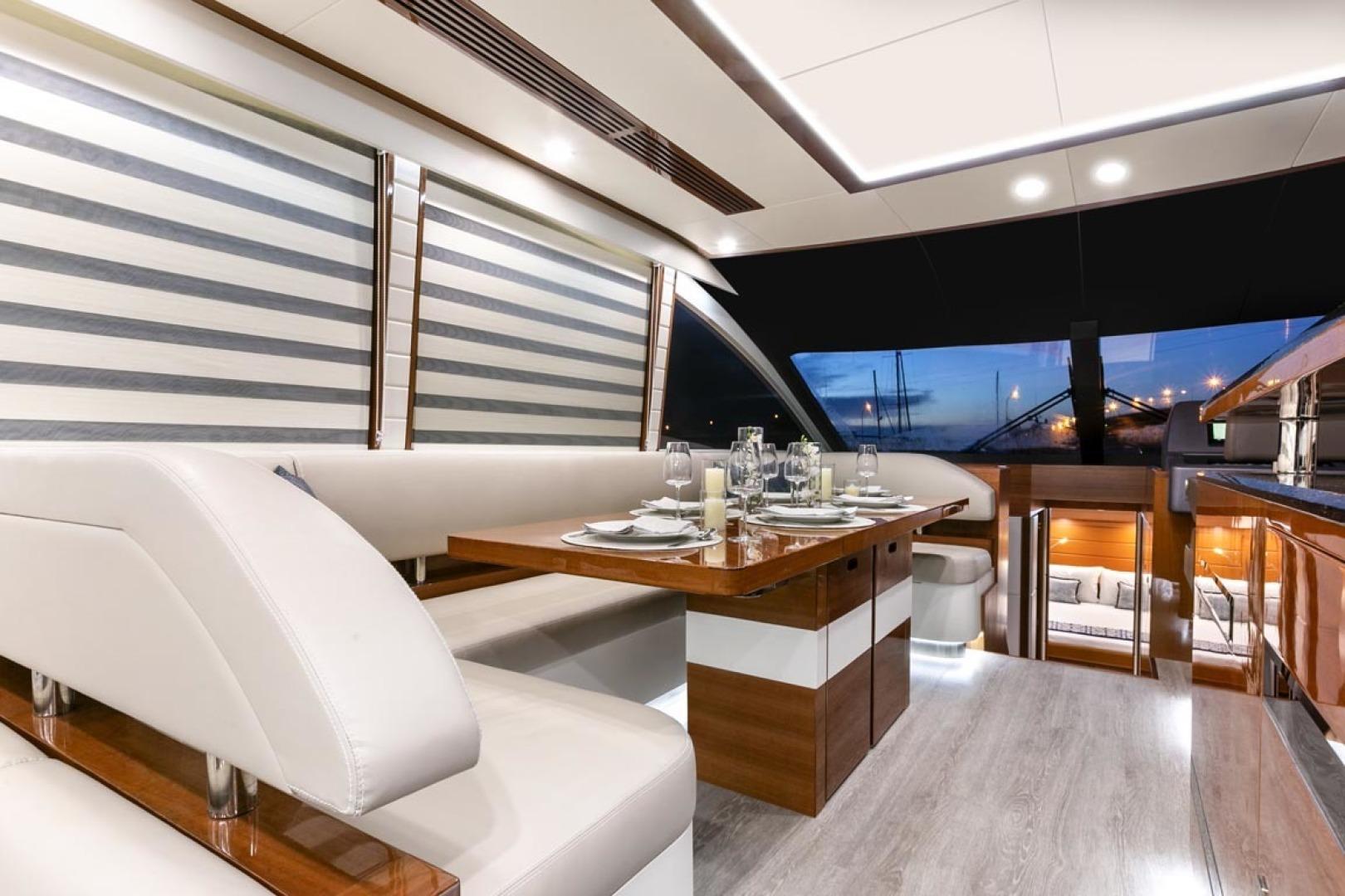 Dyna Yachts-63 2020 -Jupiter-Florida-United States-Dinette-1460388 | Thumbnail