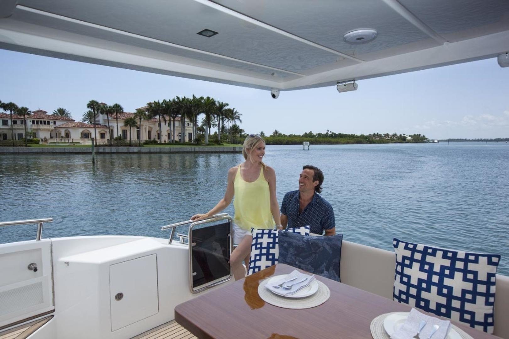 Dyna Yachts-63 2020 -Jupiter-Florida-United States-Aft Deck-1460383 | Thumbnail
