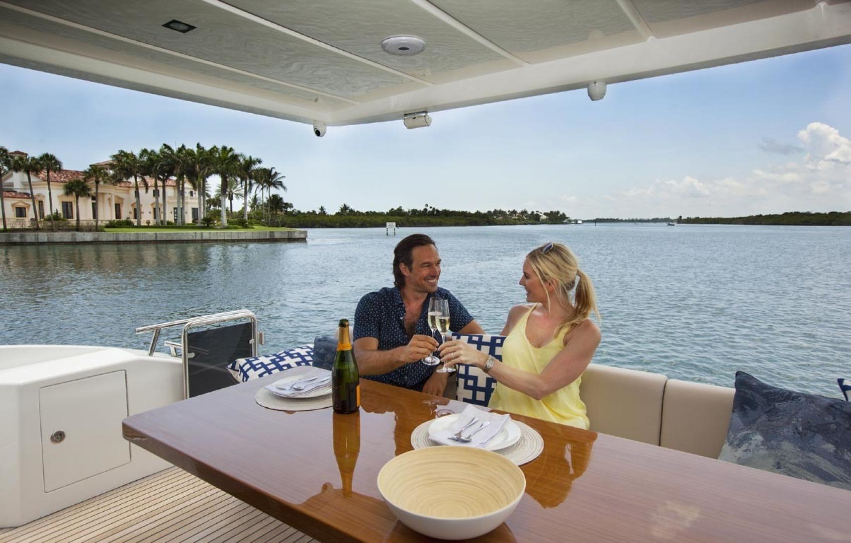 Dyna Yachts-63 2020 -Jupiter-Florida-United States-Aft Deck-1460382 | Thumbnail