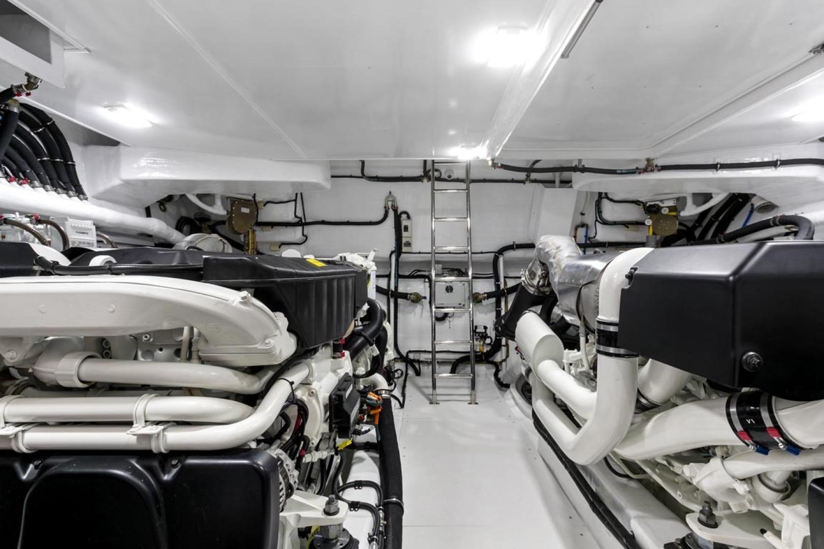 Dyna Yachts-63 2020 -Jupiter-Florida-United States-Engine Room-1460401 | Thumbnail