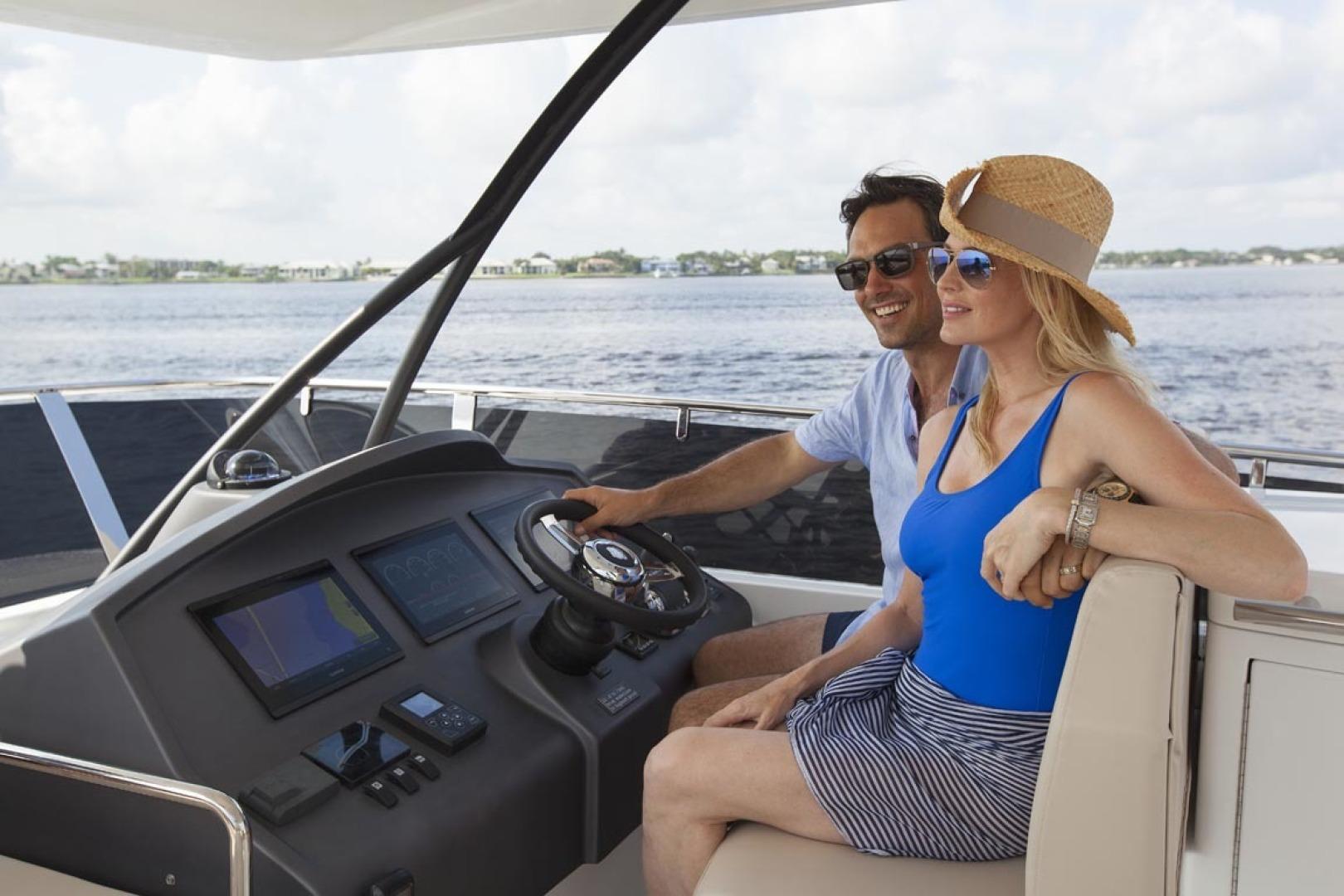 Dyna Yachts-63 2020 -Jupiter-Florida-United States-Helm Upper-1460379 | Thumbnail
