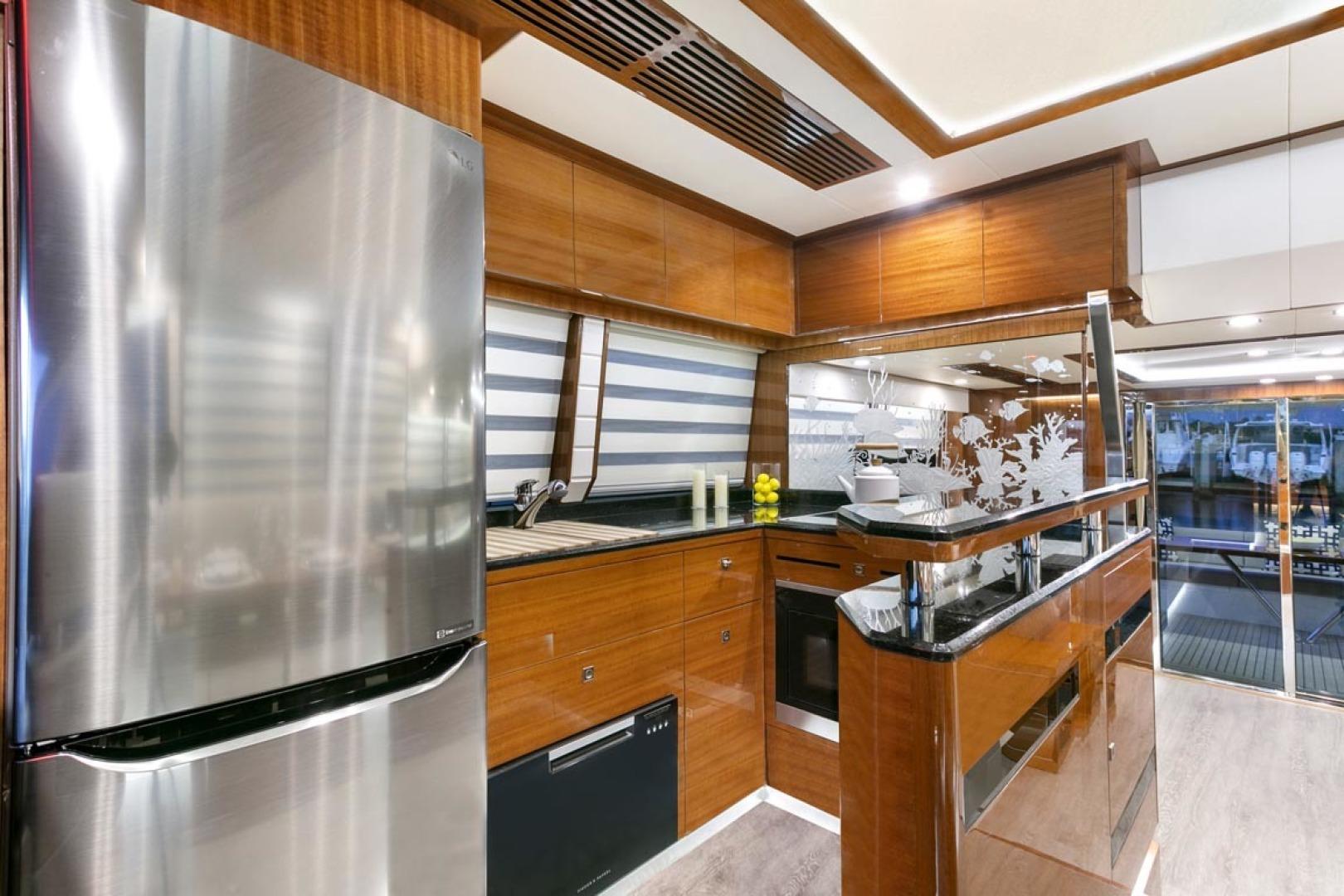 Dyna Yachts-63 2020 -Jupiter-Florida-United States-Galley-1460390 | Thumbnail
