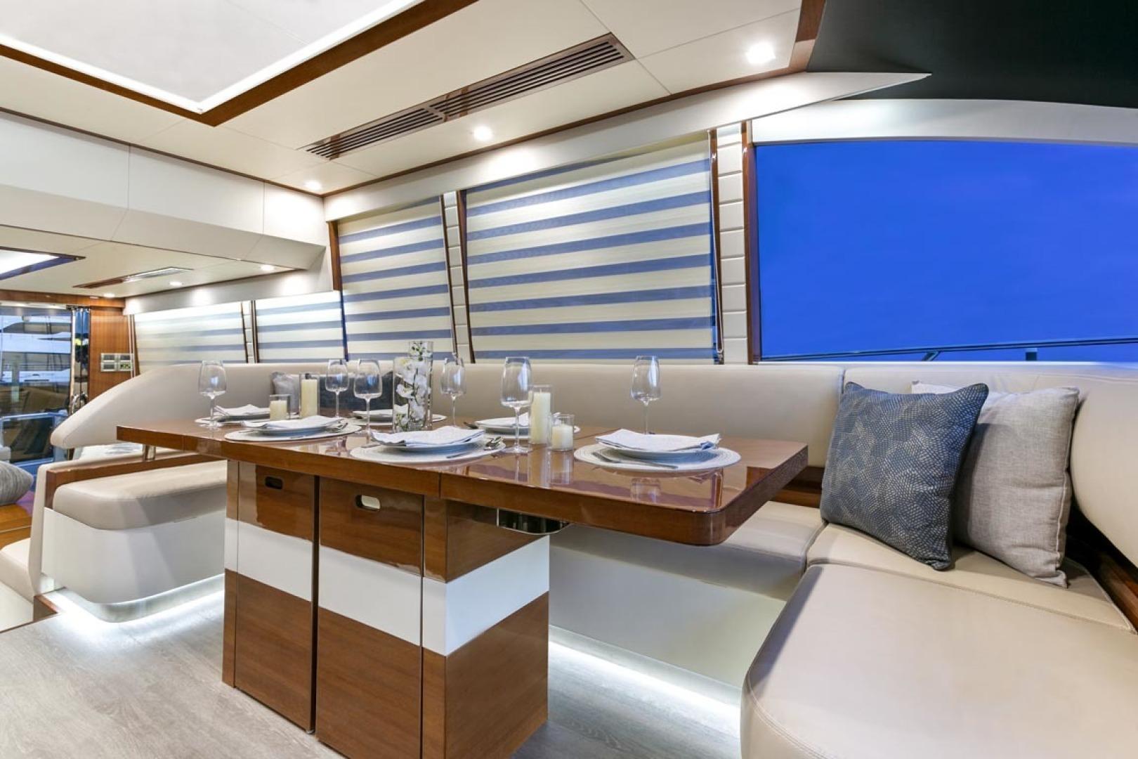 Dyna Yachts-63 2020 -Jupiter-Florida-United States-Dinette-1460389 | Thumbnail