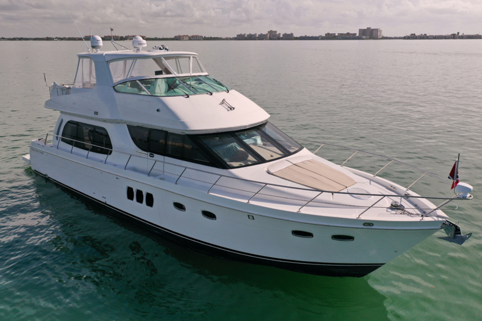 56' Carver 2008 560 Voyager Paradise