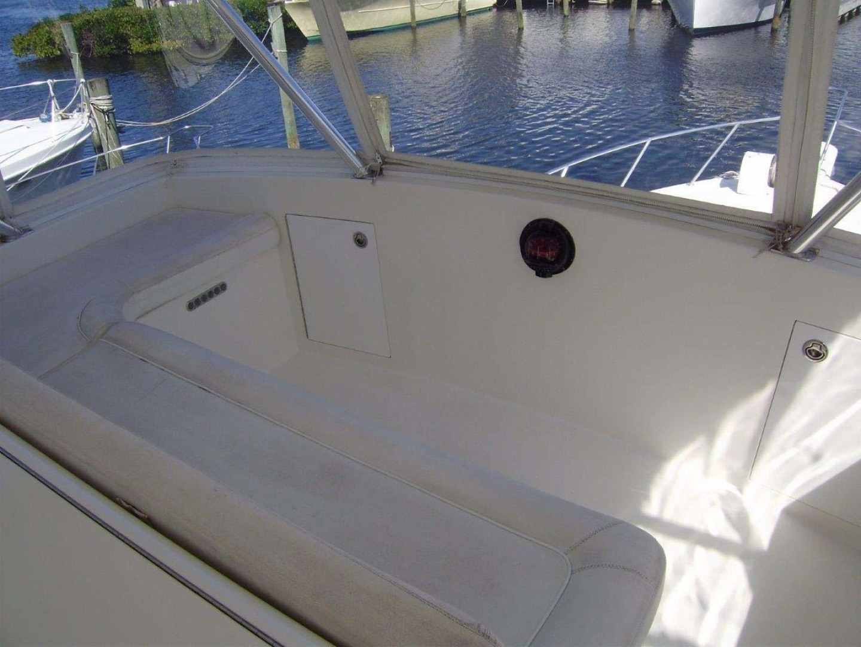 Egg Harbor-43 Sport Yacht 2005-EAGLE Ft. Pierce-Florida-United States-Flybridge Forward Seating-1318517 | Thumbnail