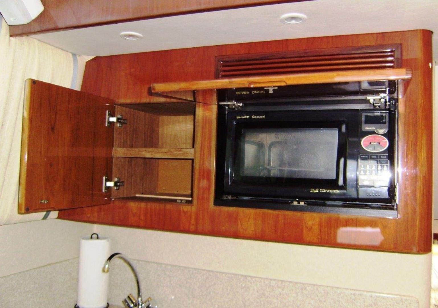 Egg Harbor-43 Sport Yacht 2005-EAGLE Ft. Pierce-Florida-United States-Microwave-1318490 | Thumbnail