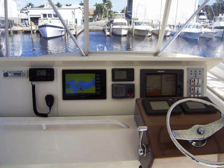 Egg Harbor-43 Sport Yacht 2005-EAGLE Ft. Pierce-Florida-United States-Helm Console-1318499 | Thumbnail