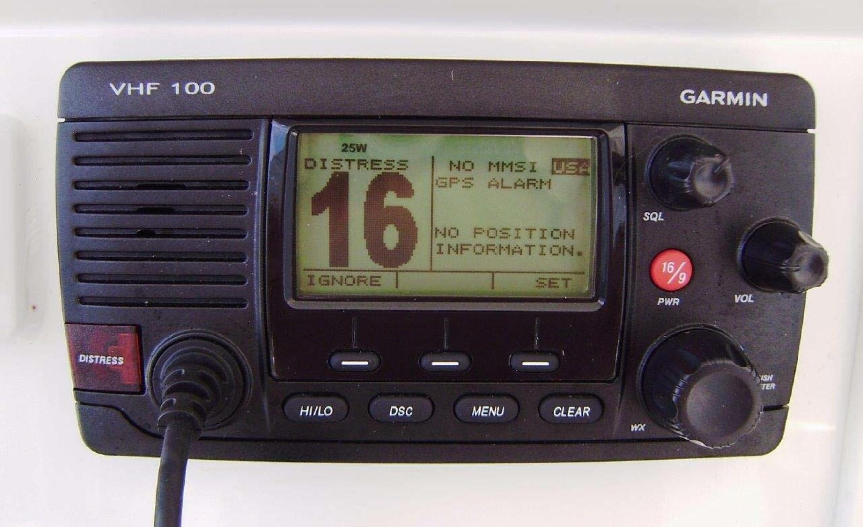 Egg Harbor-43 Sport Yacht 2005-EAGLE Ft. Pierce-Florida-United States-VHF Radio-1318500 | Thumbnail