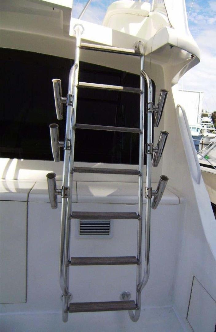 Egg Harbor-43 Sport Yacht 2005-EAGLE Ft. Pierce-Florida-United States-Flybridge Ladder-1318521 | Thumbnail