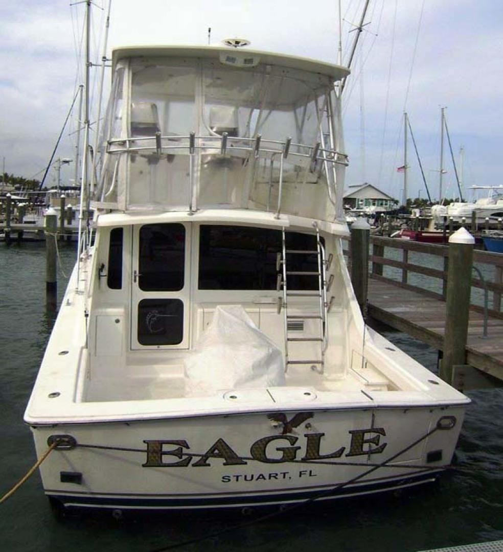 Egg Harbor-43 Sport Yacht 2005-EAGLE Ft. Pierce-Florida-United States-Stern Shot-1318599 | Thumbnail
